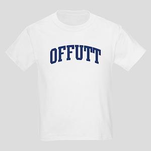 OFFUTT design (blue) Kids Light T-Shirt