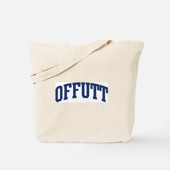 OFFUTT design (blue) Tote Bag