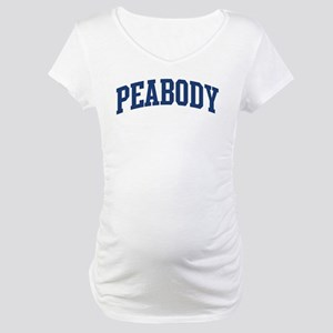PEABODY design (blue) Maternity T-Shirt
