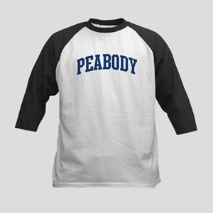 PEABODY design (blue) Kids Baseball Jersey