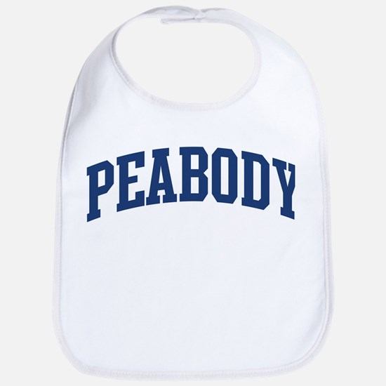 PEABODY design (blue) Bib