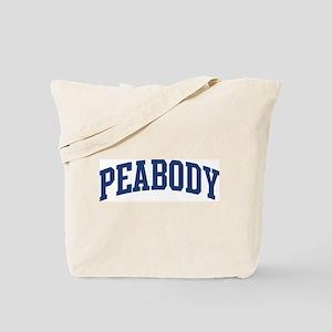 PEABODY design (blue) Tote Bag