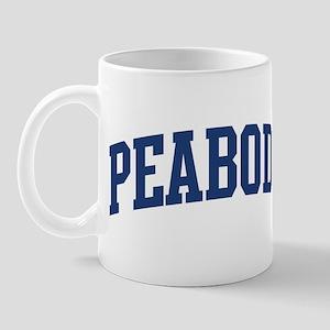 PEABODY design (blue) Mug