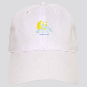 Personalized Moon and Stars Baseball Cap