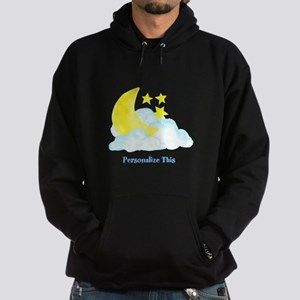 Personalized Moon and Stars Sweatshirt