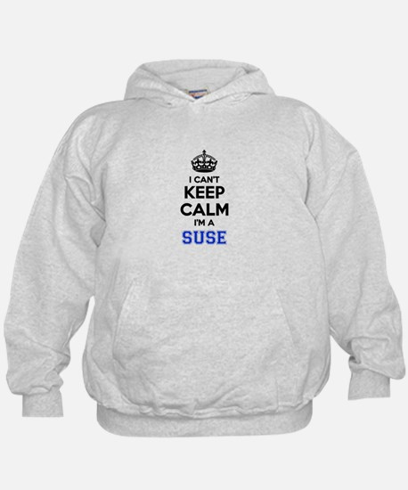 I can't keep calm Im SUSE Hoodie