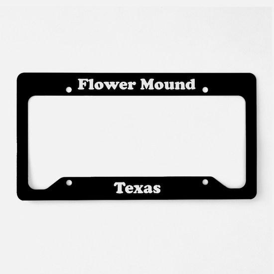 Flower Mound TX License Plate Holder