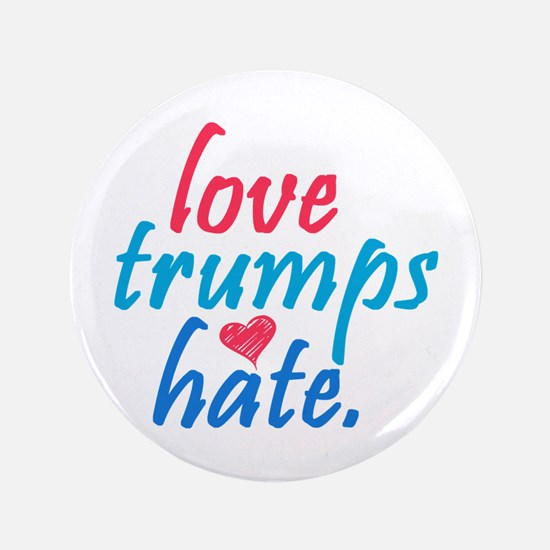 love trumps hate Button