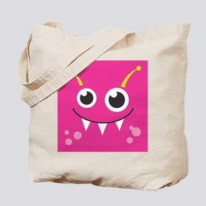 Cute Monster Tote Bag