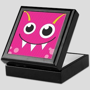 Cute Monster Keepsake Box
