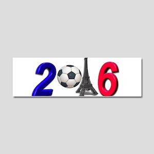 Football France Soccer Sport Car Magnet 10 x 3