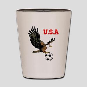 SoccerEagle Shot Glass
