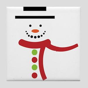 Snowmen Tile Coaster