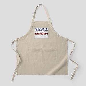 TESSA for president BBQ Apron