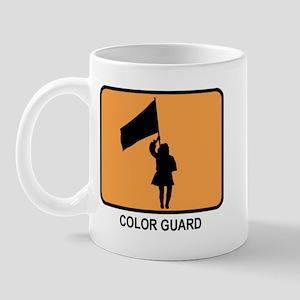 Color Guard (orange) Mug