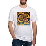 0307.twelve harmonik Fitted T-Shirt