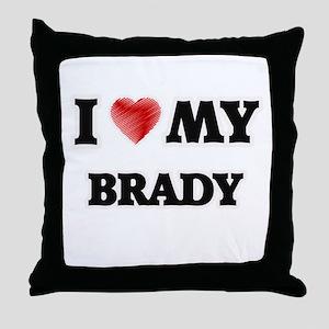 I love my Brady Throw Pillow