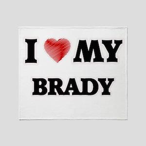I love my Brady Throw Blanket