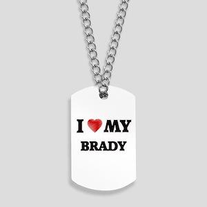 I love my Brady Dog Tags