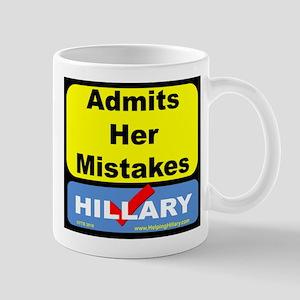 AdmitsMistakes Mugs