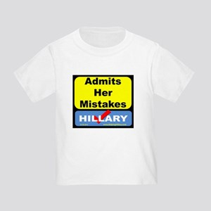AdmitsMistakes T-Shirt
