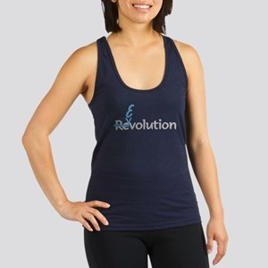 Evolution Not Revolution Racerback Tank Top