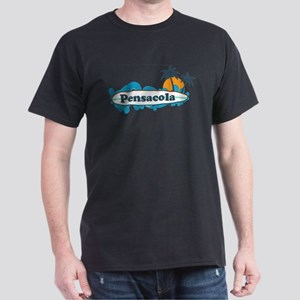 Pensacola Beach - Surf Design. T-Shirt