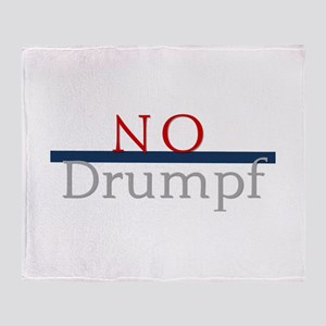 No Drumpf Throw Blanket