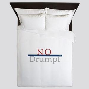 No Drumpf Queen Duvet