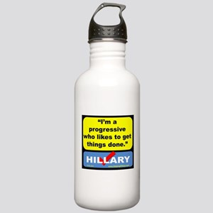 IamProgressive! Water Bottle