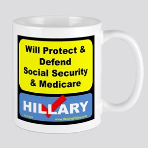WillProtectSocialSec Mugs