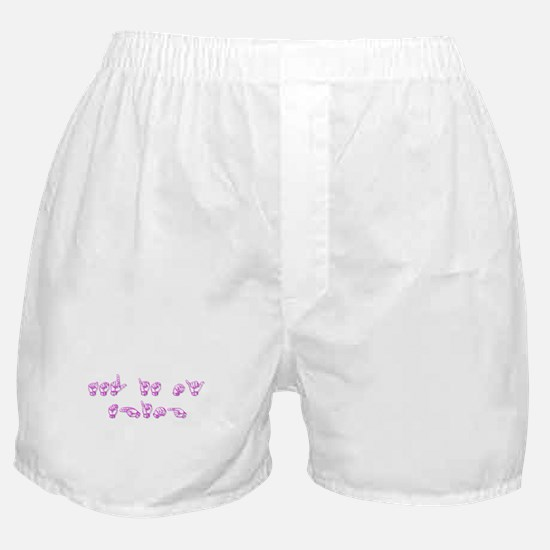 ASL Is My Thing Boxer Shorts