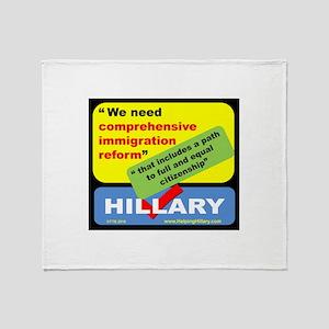 ComprehensiveReform Throw Blanket