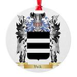 Volk Round Ornament