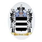 Volk Oval Ornament