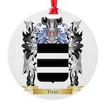 Voke Round Ornament