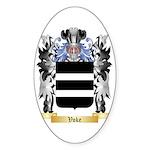 Voke Sticker (Oval 50 pk)
