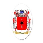 Voight Oval Car Magnet