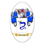 Vizcaino Sticker (Oval 10 pk)