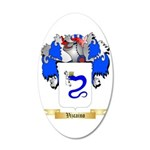 Vizcaino 35x21 Oval Wall Decal