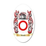 Vitulli 20x12 Oval Wall Decal