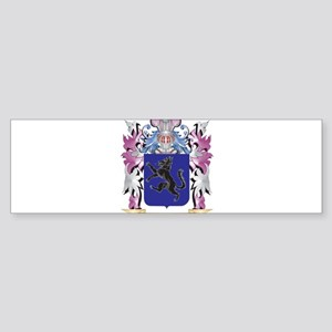 Aba Coat of Arms (Family Crest) Bumper Sticker