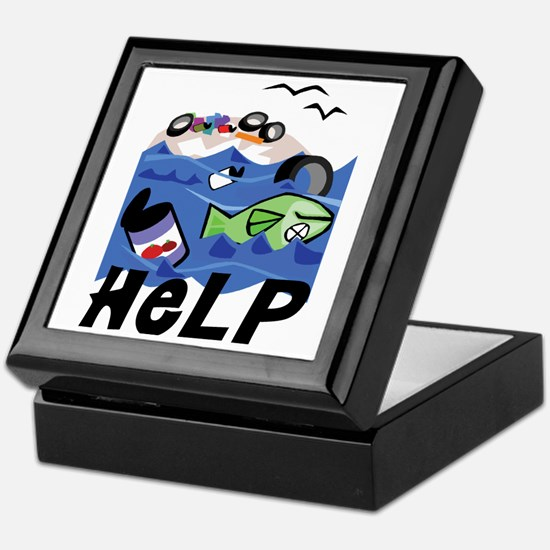 Help Save Environment Keepsake Box