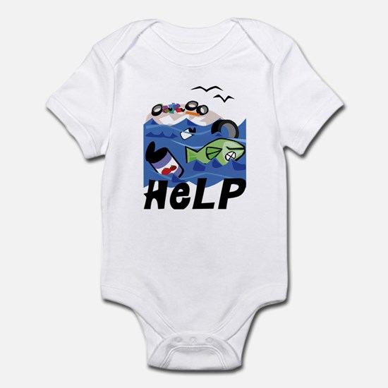 Help Save Environment Infant Creeper