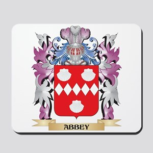 Abbey Coat of Arms (Family Crest) Mousepad