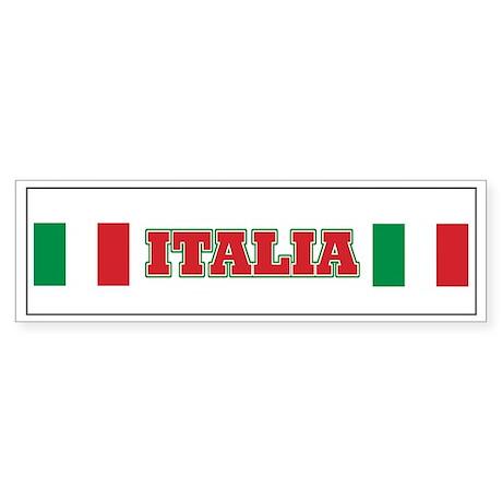 Italian Stickers Bumper Sticker