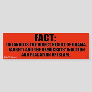 Obamas Orlando Bumper Sticker