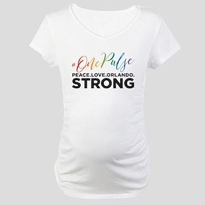 #OnePulse Orlando Maternity T-Shirt