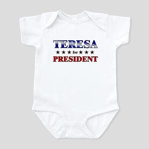 TERESA for president Infant Bodysuit