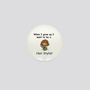 Hair Stylist Mini Button